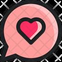 Love Heart Conversation Icon