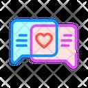 Loving Correspondence Color Icon