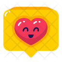 Heart Like Chat Icon