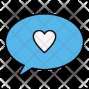 Love Chat Talk Icon