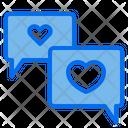 Heart Love Message Icon