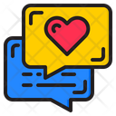 Love Chat Chat Box Inbox Icon