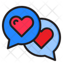 Love Chat Message Chatbox Icon