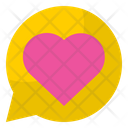 Love Chat Chat Box Message Icon