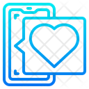 Love Chat Smartphone Message Icon