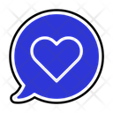 Love Chat Icon Icon