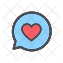Love Chat Love Message Romantic Icon