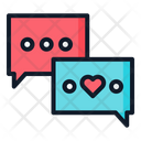 Chat Communication Love Icon