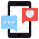 Love Chat Romantic Chat Mobile Chat Icon