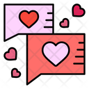 Love Chat Chat Communication Icon