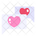 Love Chat Chat Message Icon