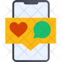 Love Chat Love Message Chatting Icon