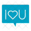 Love Chat I Love You Chatting Icon