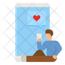 Love Chat Love Chatting Love Message Icon