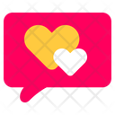 Love Chat Chat Love Icon