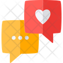 Love Chat Social Chat Icon