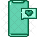 Love Chat Love Message Mobile Message Icon