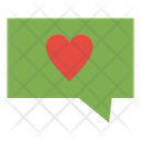Like Love Message Icon