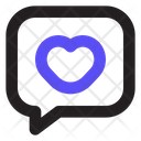 Love Chat Heart Love Message Icon