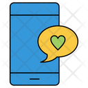 Love Chat Mobile Icon