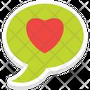 Loving Chat Feeling Inspiration Icon
