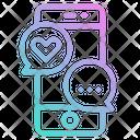 Love Romance Message Icon