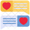 Talk Love Heart Icon