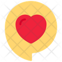 Message Heart Love Icon