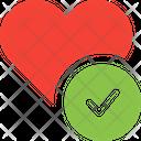 Love Check Check Love Check Icon
