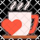 Love Mug Hot Drink Icon
