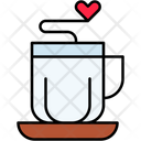 Love Coffee Icon