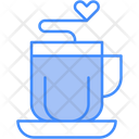 Love Coffee Love Tea Hot Coffee Icon