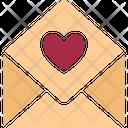 Love Communication Love Correspondence Love Greeting Icon