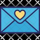 Love Correspondence Love Greeting Love Letter Icon