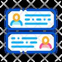 Chatting Dating App Icon