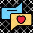 Communications Communication Heart Icon