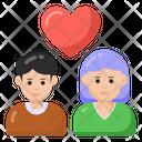 Love Couple Life Partners Romantic Couple Icon