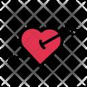 Heart Dart Love Icon