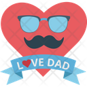 Love Dad Icon