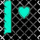 Love Diary Heart Icon