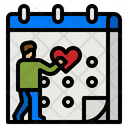 Love Date Dating Date Love Icon
