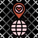 Love Location Meeting Icon
