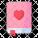Romantic Novel Love And Romance Valentines Day Icon