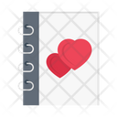Love Diary Wedding Icon