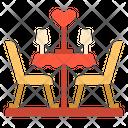Table Love Romance Icon