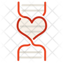 Love Dna Dna Heart Icon