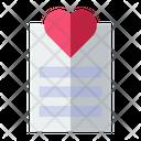 Love Document Icon
