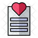 Love Document Icon