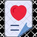 Document Love File Icon