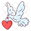 Love Dove Love Bird Love Messenger Icon